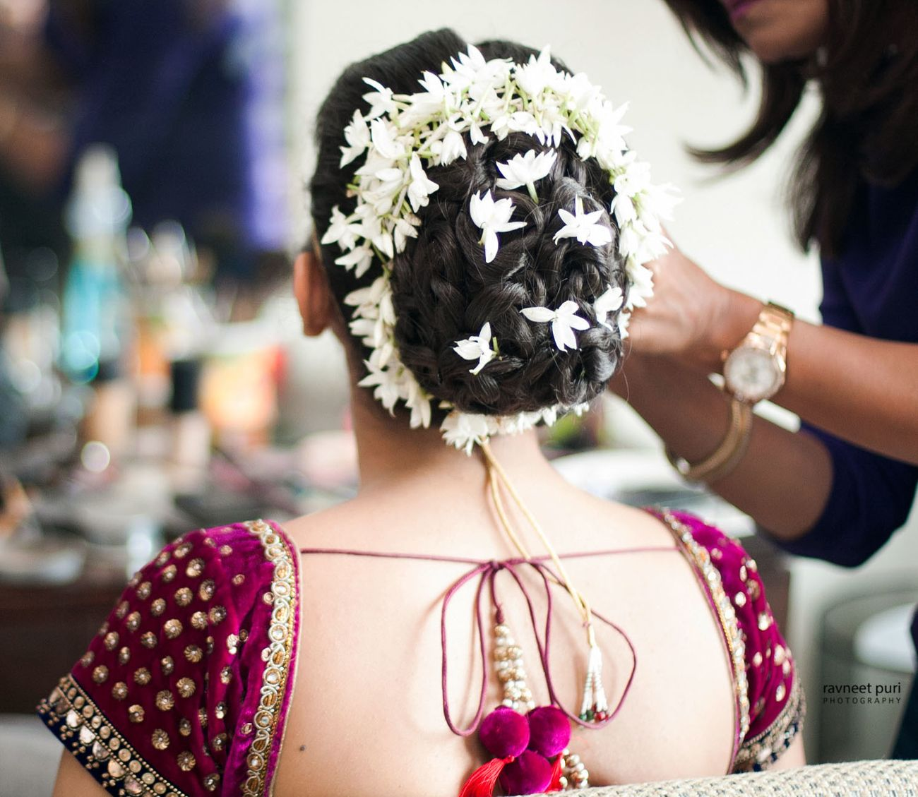 20 Bridal Juda Hairstyles You Are Gonna Love!   ★★★★Rish Agarwal★★★★ Best Candid Wedding ...